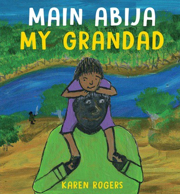 Cover image of the children's book Main Abija
